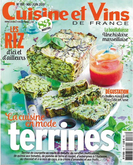 Abonnement Magazine Cuisine Et Vins De France A Prix Reduit